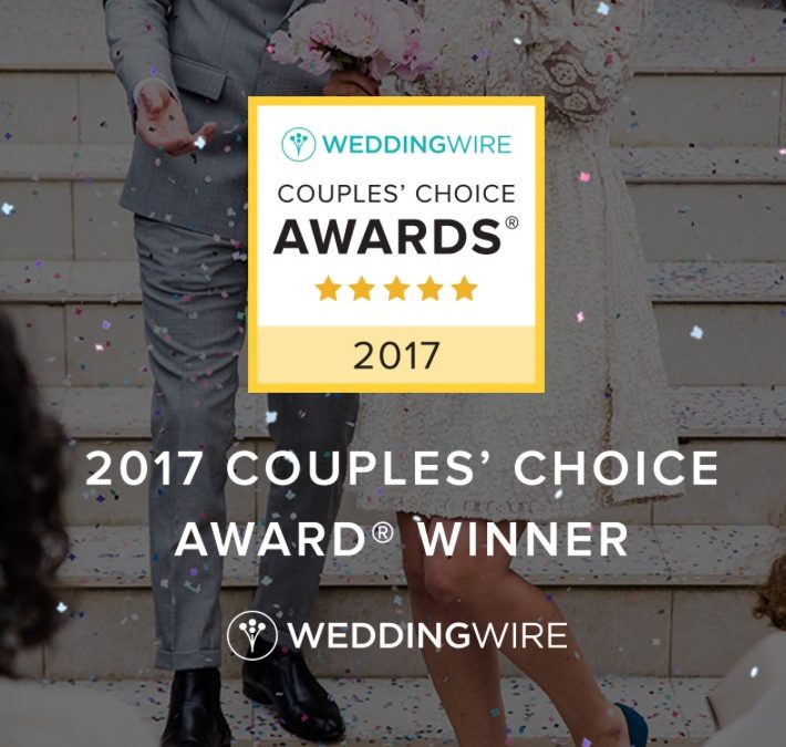 2017 WeddingWire Couples' Choice Award