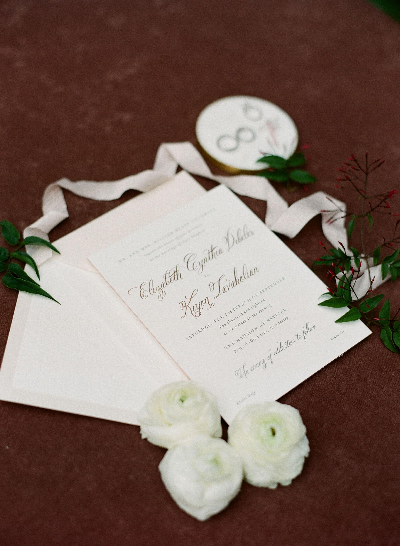 Custom Wedding Invitation Design NJ Wedding Planner
